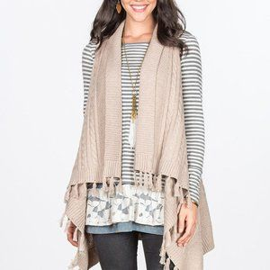 Matilda Jane Mind's Eye Vest Sleeveless Cardigan